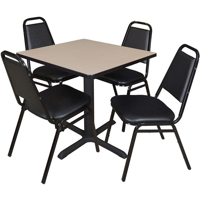 restaurant chairs for less accent chair under 100 square table and stack set tb3030be29bk