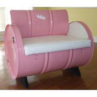 Princess Steel Drum Armchair 1015 ...