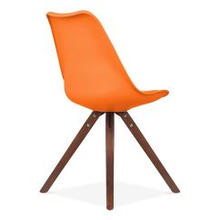 Orange Side Chair Sears High Chairs Set Of 2 Ls 1000 Orawal Restaurantfurniture4less Com Our Viborg Mid Century With Walnut Wood Base Is