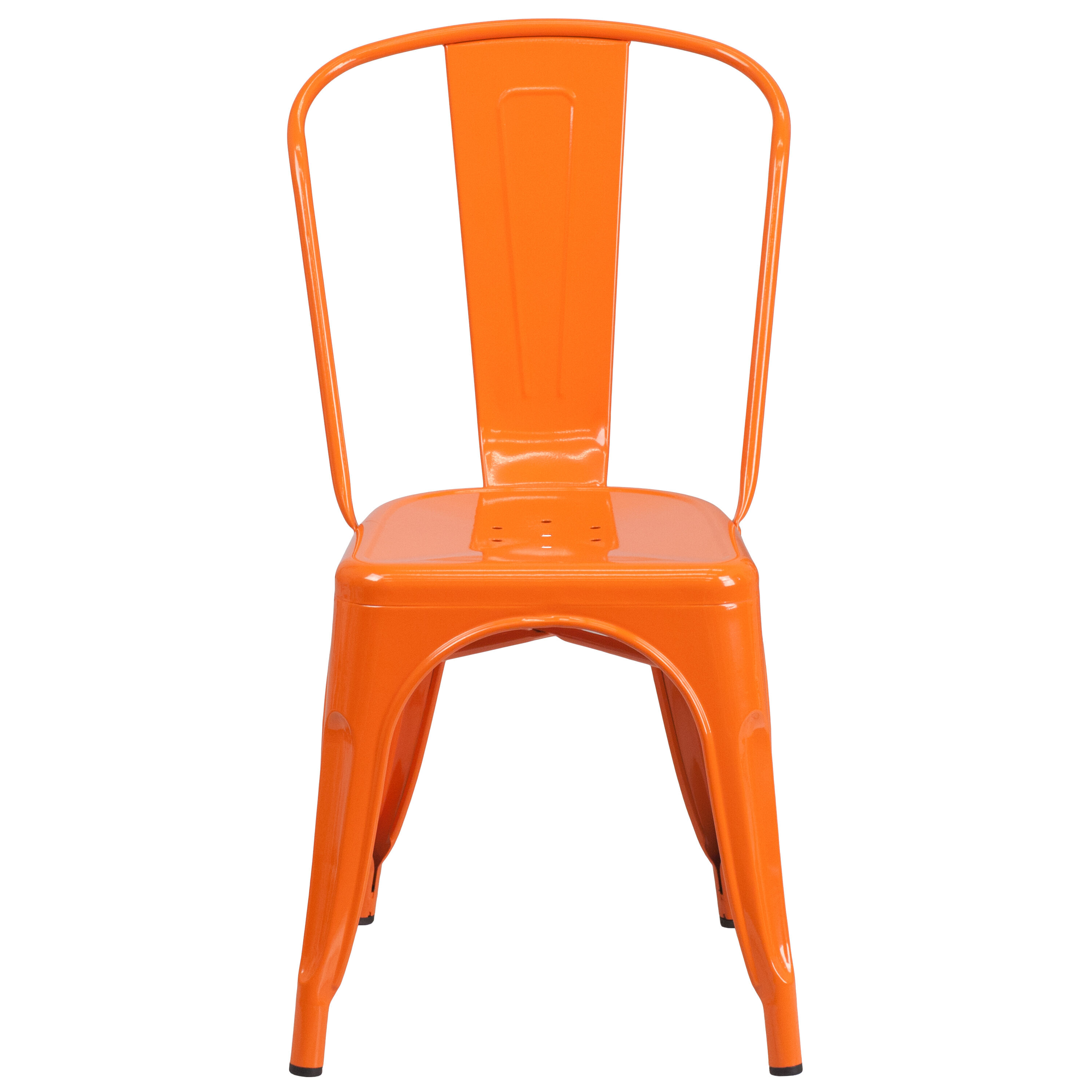 orange cafe chairs rope chair swing metal ch 31230 or gg