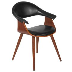 Leather Side Chair Hanging With Stand For Bedroom Walnut Sd 2994 7 Gg Restaurantfurniture4less Com Our Contemporary Bentwood Reception Black Back And Seat Is On Sale