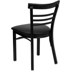 Restaurant Chairs For Less Round Banquet Chair Covers T And D Equipment Bfdh 6145bladbk Tdr