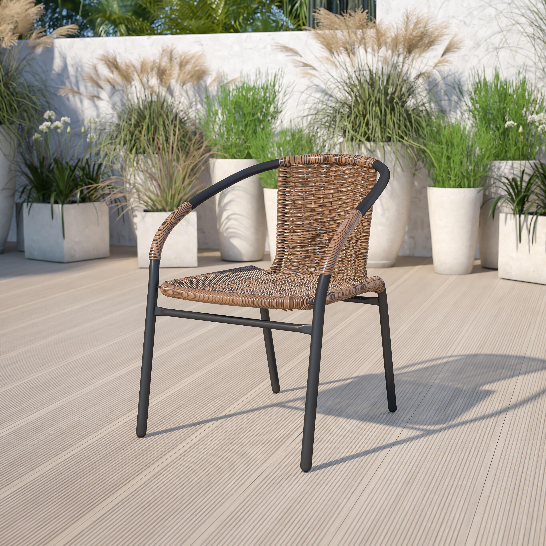 outdoor restaurant chairs ikea kitchen restaurantfurniture4less patio and furniture dark brown rattan indoor stack chair
