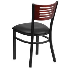 Restaurant Supply Chairs Lafuma Anti Gravity Chair Metal Slat Back Bfdh Dg 6g5b