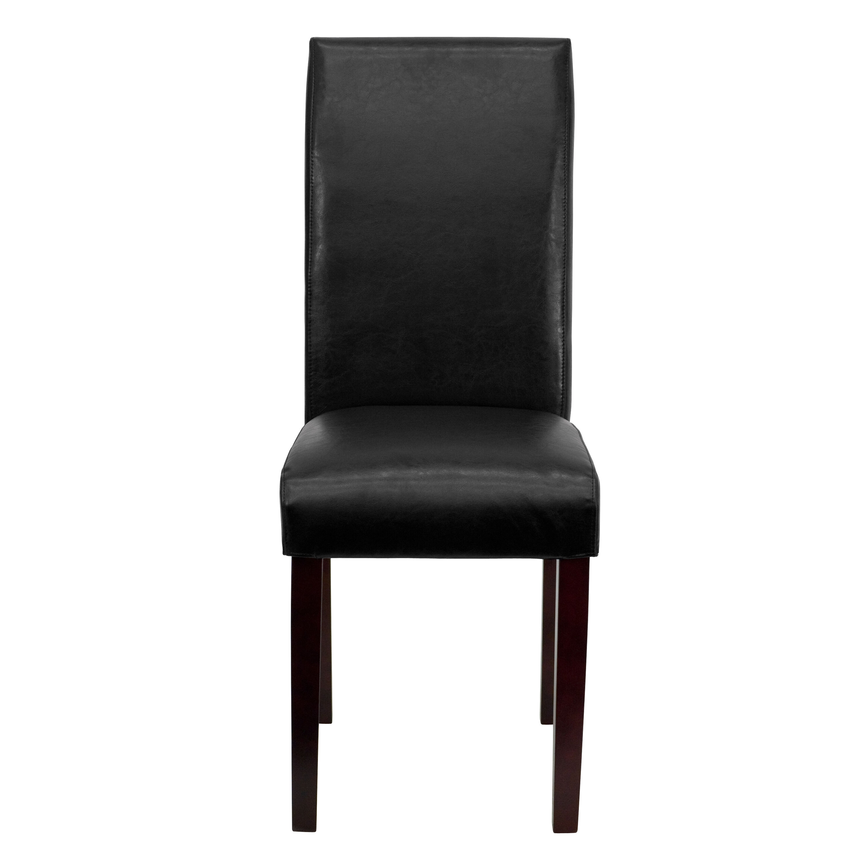 black parsons chair folding drawing bt 350 bk lea 023 gg