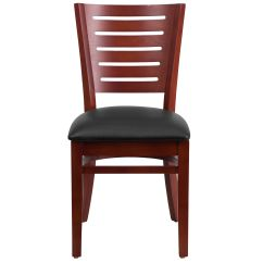 Restaurant Chairs For Less Kids Table And Set Wood Slat Back Chair Bfdh Dg W0108