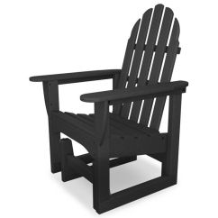 Gray Adirondack Chairs Pedicure For Sale Used Our Polywood Collection Glider Chair Is
