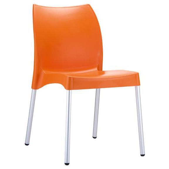 orange stackable chairs jordan side chair 049 3846