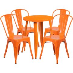 Orange Cafe Chairs Workpro Office Chair 24rd Metal Table Set Ch 51080th 4 18cafe Or Gg