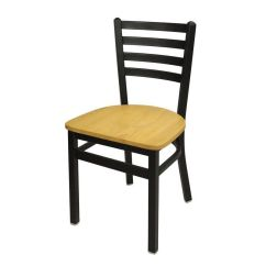 Ladder Back Chair Bar Height Table And Chairs Set Lima Metal 2160cntw Sb Restaurantfurniture4less Com Images Our