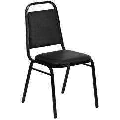 Stackable Restaurant Chairs Chair Cover Hire Durham Restaurantfurniture4less Stack Hercules Series Trapezoidal Back Stacking Banquet In Black Vinyl Frame