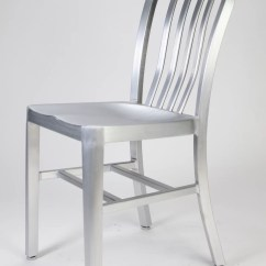 Navy Chair Stool Best Office With Neck Support Brushed Aluminum Chairs