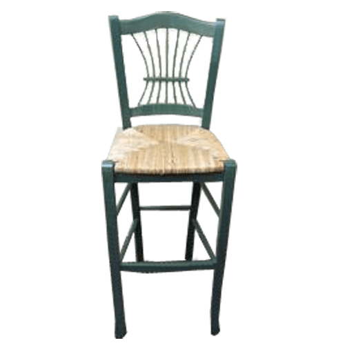 Sheaf Back Wood Stool