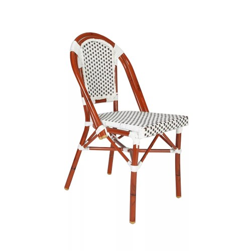 Bamboo style Aluminum chair