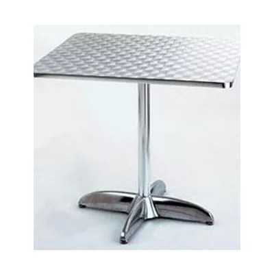 Restaurant Table Square Aluminum 36 x 36