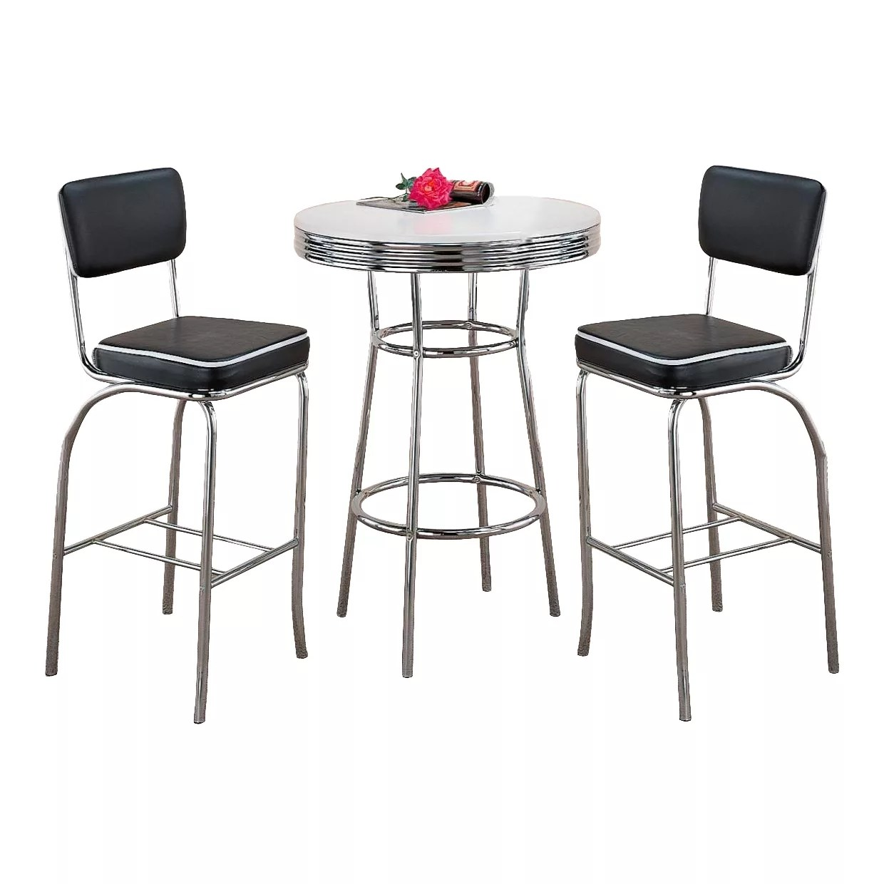 Home / Shop / Table U0026 Chair Sets / Retro Bar Table U0026 Stool Set