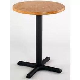 Elegant Restaurant Table Wood Round Laminated 36 In Diameter