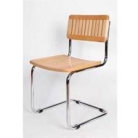 Slat Wood Breuer Chair
