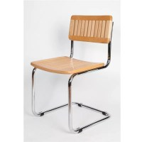Slat Wood Breuer Chair - Restaurant Furniture Warehouse