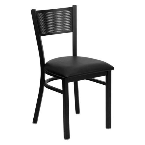 Oscar Metal Black Chair