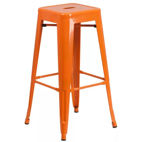 Callie Backless Metal Bar Stool