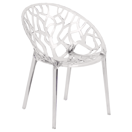 Leisure Crystal Stackable Chair