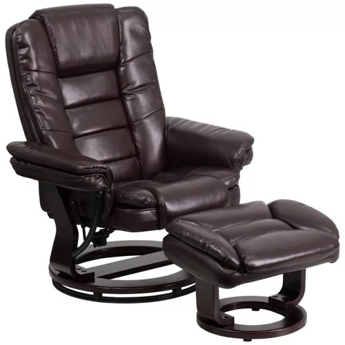 Kerby Recliner and Ottoman Set