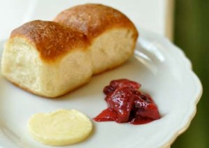 The Parker House Rolls at Peels.