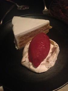 Soft & Crunchy Almond Cake