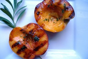 Grilled-Peaches-with-Cinnamon-and-Rosemary