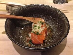 Ikura & Trout Sushi