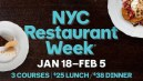 Where to Dine During NYC Restaurant Week: Winter 2016