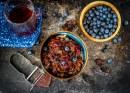 Pueblan Pork with Blueberry Mole