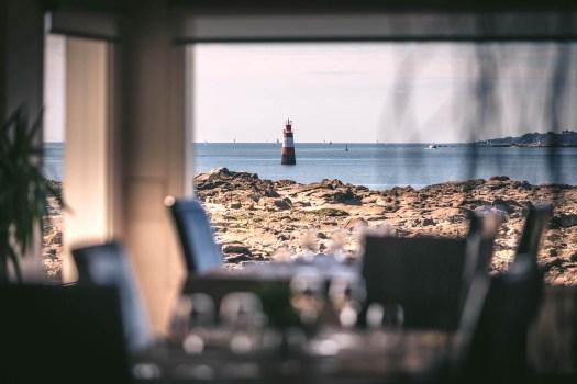 Salle de receptions - Restaurant La Grande Plage à Poir-Louis dans le Morbihan