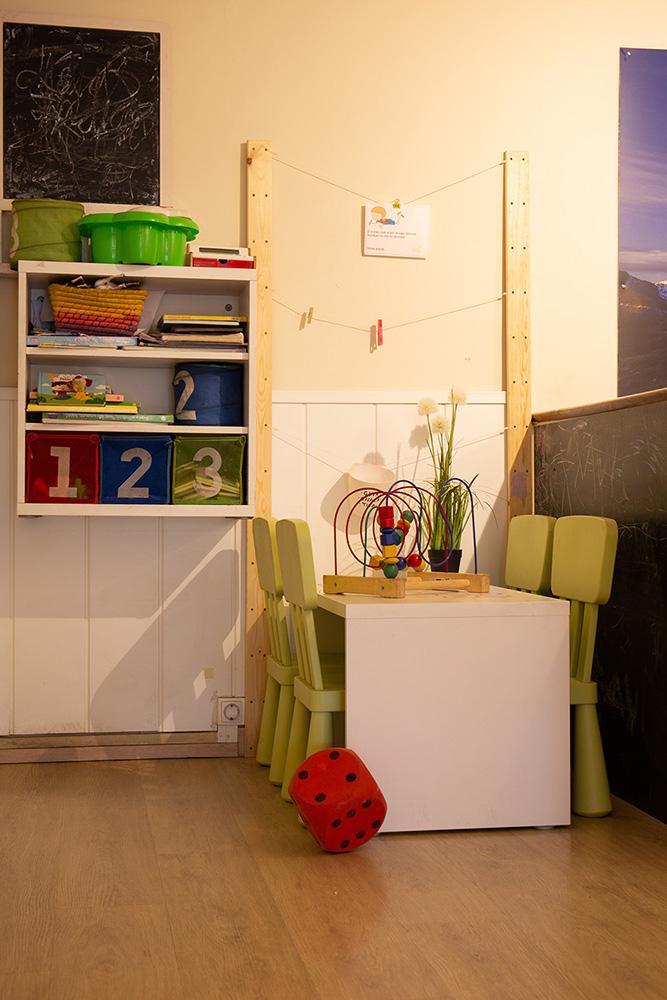Zona infantil Restaurant Loucomballa