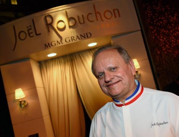 Naming restaurants - Joel Robuchon