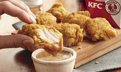 Kfc S Original Recipe Bites Now Paired With America S Most Classic Dipping Sauce Kfc S World Famous Gravy Restaurantnews Com
