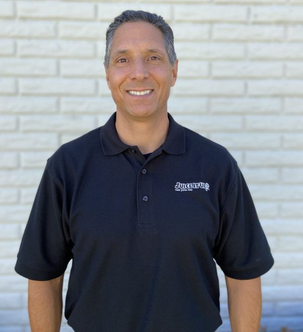 Juice It Up!'s Director of Operations and Business Development, Carlo Verdugo