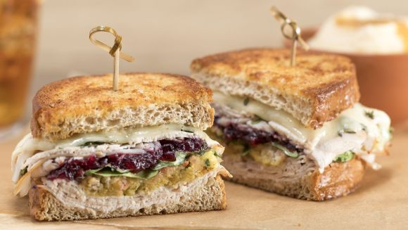 TooJay's Deli Turkey Cranberry Griller