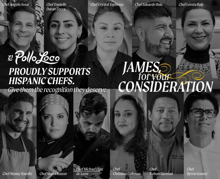 El Pollo Loco Calls for Long Overdue Recognition of Hispanic Culinary Talent with Hispanic Heritage Month For Your Consideration Campaign