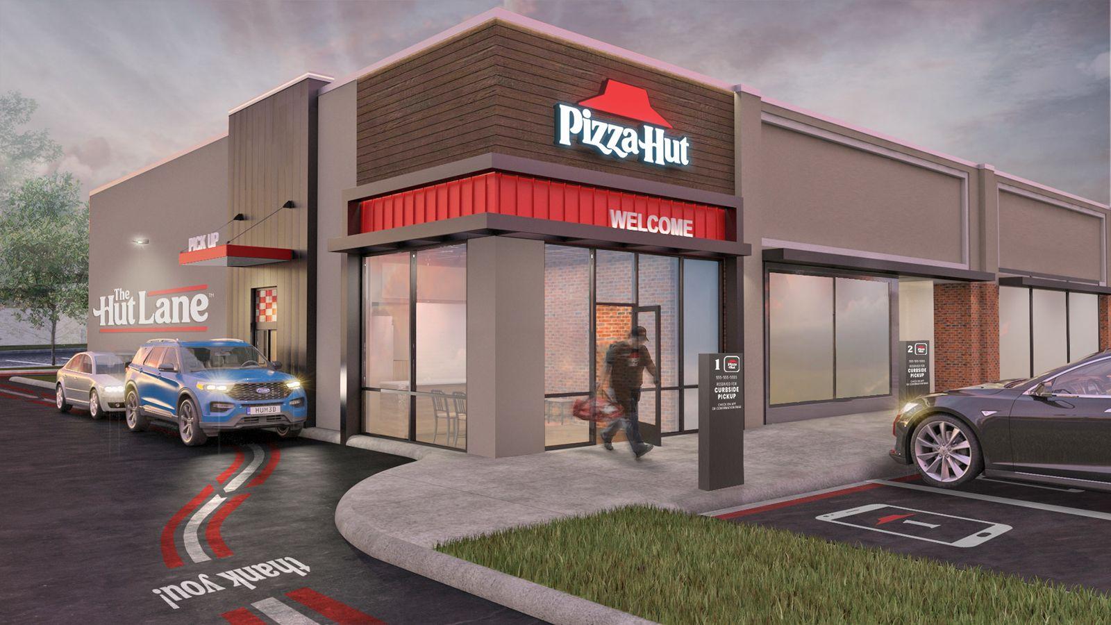 Pizza Hut Launches The Hut Lane — A Digital-First Carryout Option | RestaurantNewsRelease.com