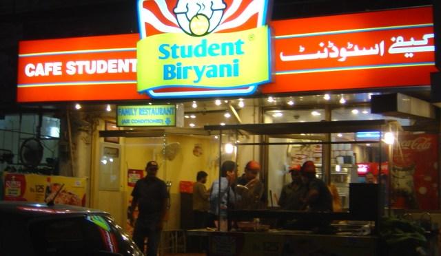 Café Student – Losing focus on its Biryani
