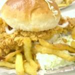 Zinger burger-khan