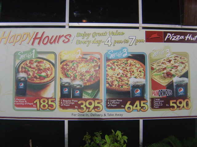 Pizza Hut's Happy Hour Deal