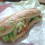 KFC Big Filler Sub with Jalapeno