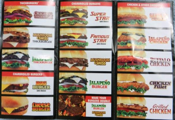 Hardees menu Pakistan