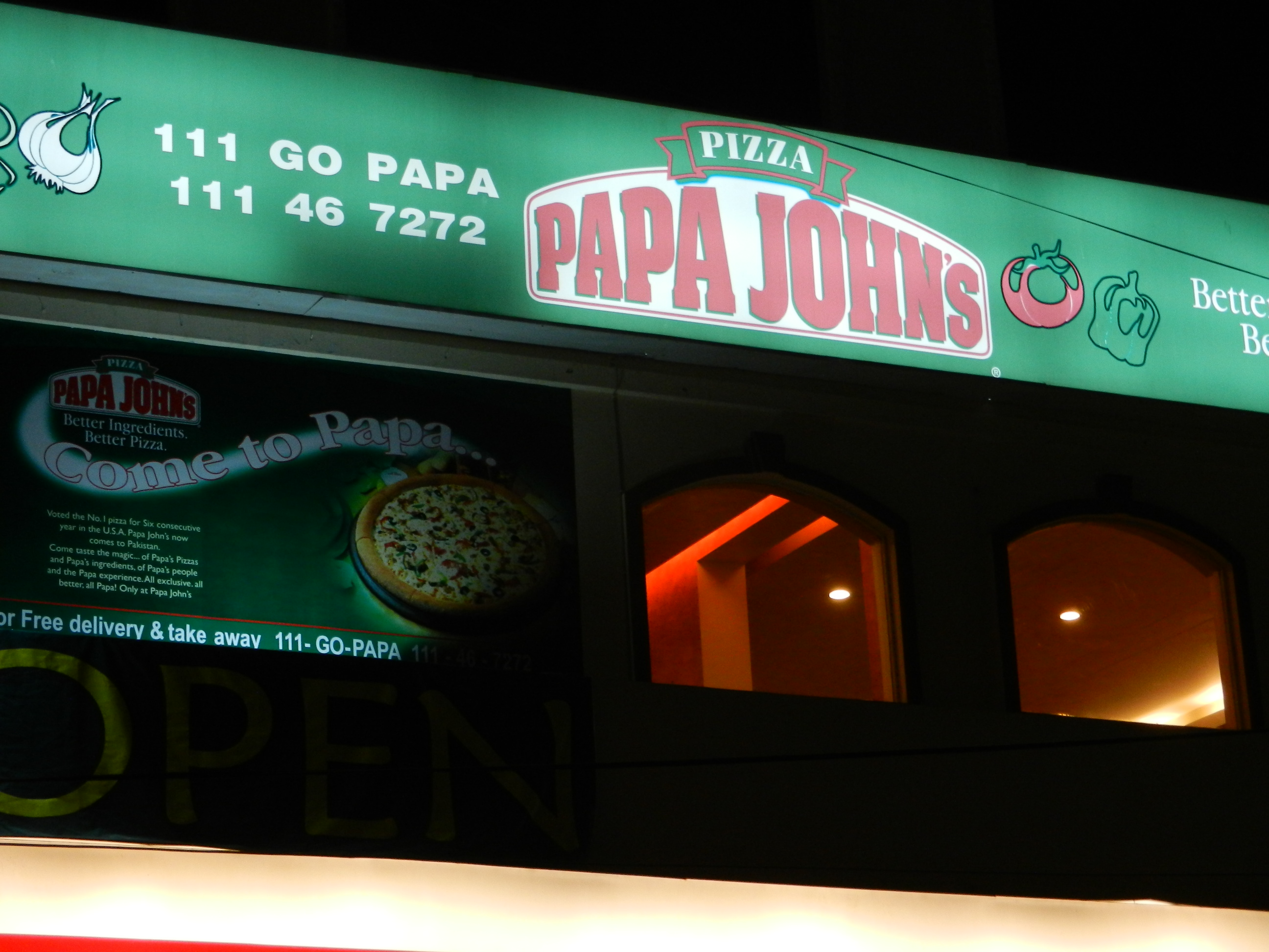 Papa John's Pizza Resurrected