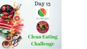 Nutrinizer & FoodPanda – Clean Eating Challenge Day 13