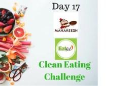 Manakeesh Eatfit 30-Day Clean Eating Challenge