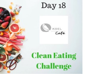 Koel Cafe 30-Day Clean Eating Challenge